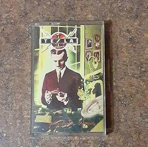 """Tesla """"Psychotic Supper"""" Cassette Tape"""